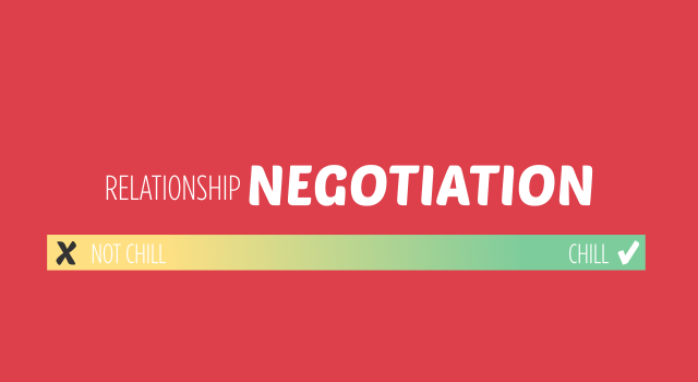 Relationship Negotiation