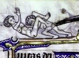 Medieval cunnilingus