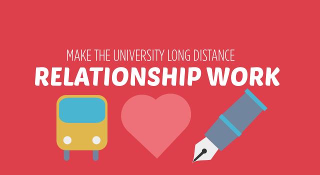 Make That University Long Distance Relationship Work